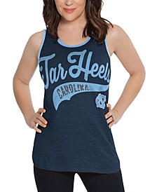 Women's North Carolina Tar Heels Tailsweep Colorblock Tank