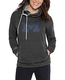 Women's Michigan Wolverines Cowl Neck Sweatshirt