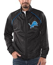 Men's Detroit Lions Black Tracer Track Jacket
