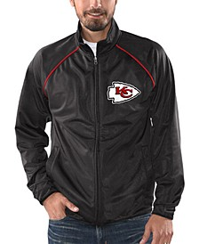 Men's Kansas City Chiefs Black Tracer Track Jacket