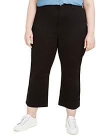 Trendy Plus Size Montauk Cropped Pants