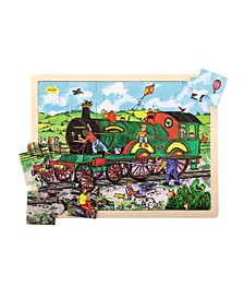 24 Piece Tray Puzzle, Train