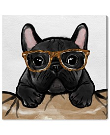 Nerdy Frenchman Tortoise Canvas Art Collection