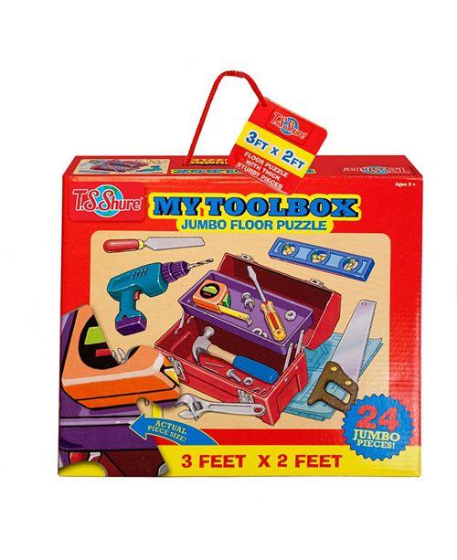 T.S. Shure My Toolbox Jumbo Floor Puzzle