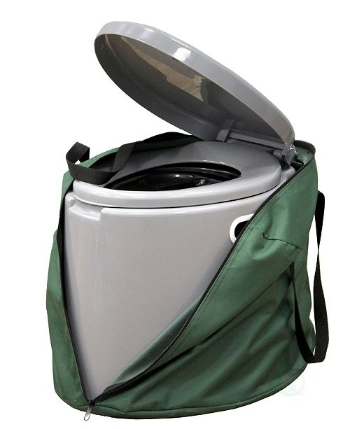 Playberg Portable Travel Toilet For Camping and Hiking with Travel Bag