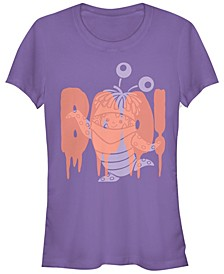 Disney Pixar Women's Monsters Inc. Boo Halloween Short Sleeve Tee Shirt