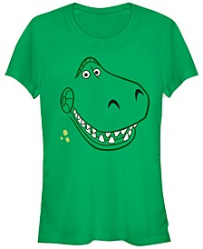 Disney Pixar Women's Toy Story Rex Halloween Short Sleeve Tee Shirt