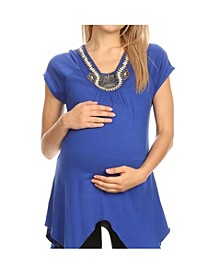 Maternity Myla Embellished Tunic