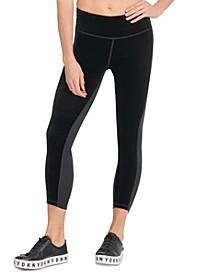 Sport Velvet Colorblocked High-Waist Leggings