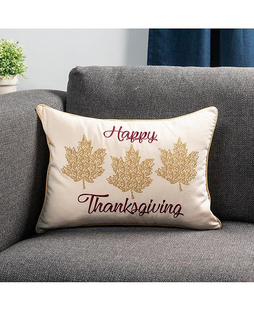 Happy Thanksgiving Decorative Throw Pillow