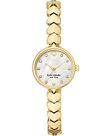 Women's Hollis Gold-Tone Stainless Steel Bracelet Watch 24mm