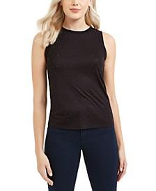 Studded Sleeveless Top, Created For Macy's