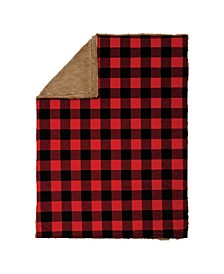 Buffalo Check Plush Baby Blanket