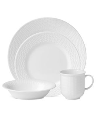 Dinnerware Nantucket Basket 4-Piece Place Setting  sc 1 st  Macyu0027s & Wedgwood Dinnerware Nantucket Basket Collection - Fine China - Macyu0027s