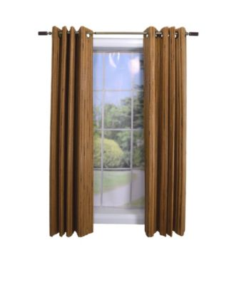 Home Fashions Unbanded Bamboo Panel with 8 Grommets