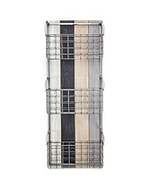 American Art Decor 3 Pocket Rustic Wired Mail Wall Organizer