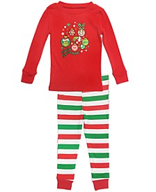 Matching Baby Girls Two Piece Pajamas, Online Only