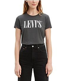 Women's The Perfect Tee Cotton Logo T-Shirt