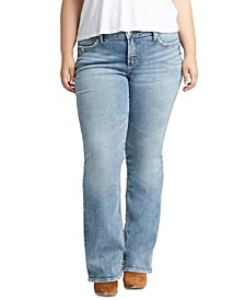 Trendy Plus Size Elyse Bootcut Jeans