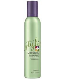 Clean Volume Weightless Mousse, 8.5-oz., from PUREBEAUTY Salon & Spa