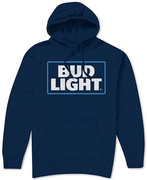 Hybrid Bud Light Logo Men's Hoodie