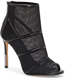 Jassie Peep Toe Dress Booties