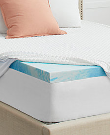 """Sealy 3"""" Memory Foam Mattress Topper with Cover, Queen"""