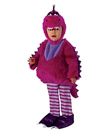 Toddler Girls and Boys Dragon Deluxe Costume
