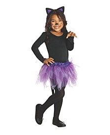 Big and Toddler Girls Cat Costume