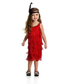 Big and Toddler Girls Fashion Flapper Costume