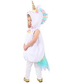 Big Girls and Boys Pastel Unicorn Costume