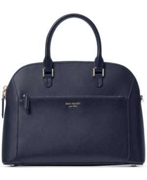 Kate Spade Satchels LOUISE LEATHER DOME SATCHEL
