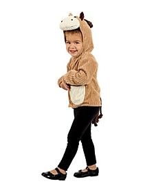 Big Girls and Boys Horse Jacket Costume