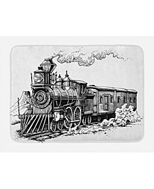 Steam Engine Bath Mat