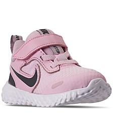 Toddler Girls Revolution 5 Stay-Put Closure Running Sneakers from Finish Line
