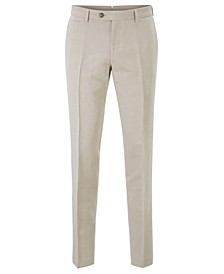 BOSS Men's T-Bryce Slim-Fit Cropped Trousers