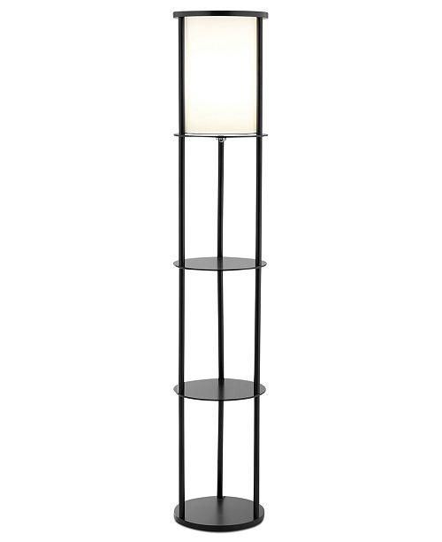 Adesso Stewart Shelf Floor Lamp