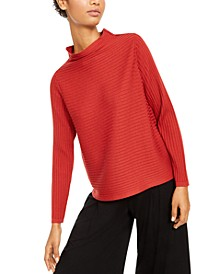 Wool Funnel-Neck Sweater, Regular & Petite Sizes
