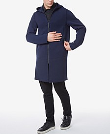 Men's Neoprene Slim Fit Hooded Suba Coat