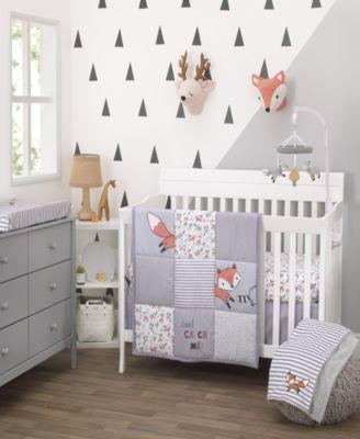 Lil Fox 3-Piece Crib Bedding Set