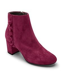 Women's Total Motion Oaklee Ruffle Ankle Boots