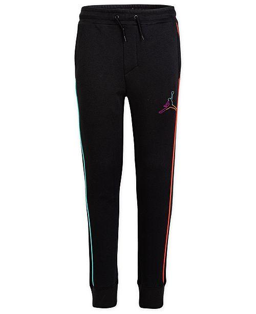 Jordan Big Boys Multi-Color Fleece Jogger Pants