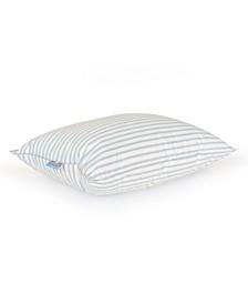 Medium Density 230TC 10/90 Granny Stripe Feather Queen Pillow