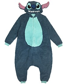 The Stitch Men's One Piece Hooded Pajama, Online Only
