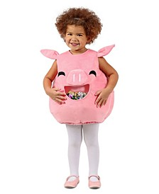 Baby Girls Feed Me Piggy Costume