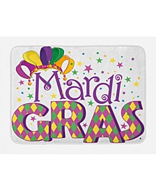 Mardi Gras Bath Mat