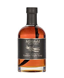 Vanilla Bean Infused Organic Vermont Maple Syrup, 375 ml