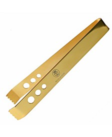 24K Gold-Plate 7 Inch Professional Series Ice Tongs