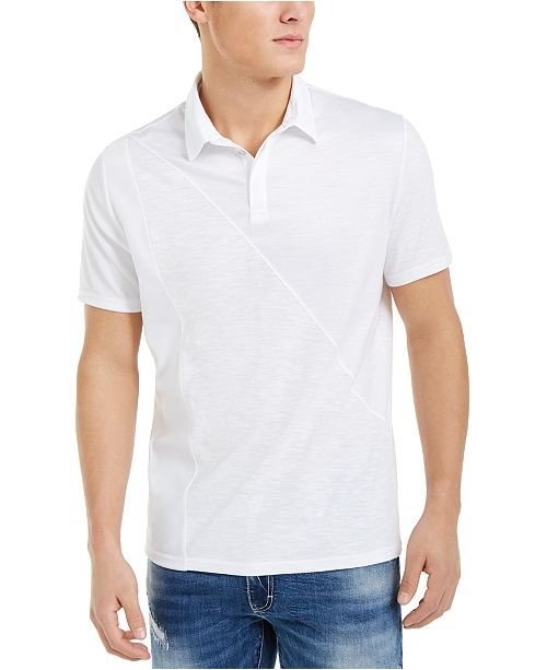 INC International Concepts INC Men's Fountain Polo Shirt, Created For Macy's