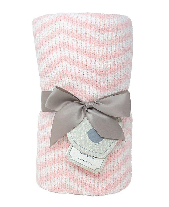 Living Textiles - Chenille Toddler Blanket
